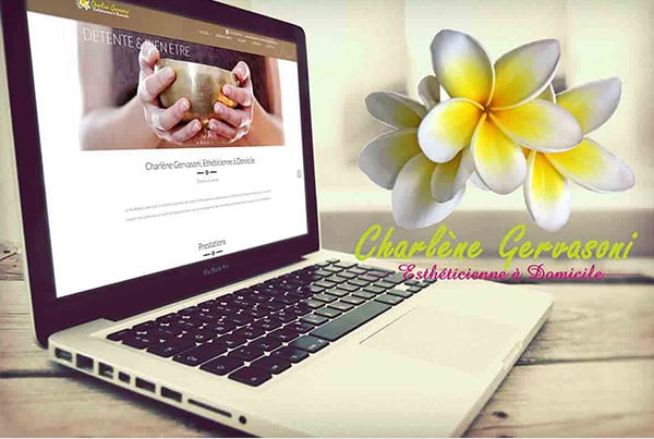 Charlene Esthetique project – Fully responsive website creation & SEO