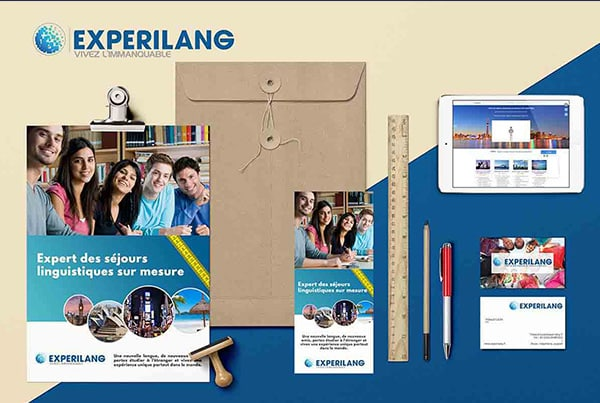 A 360° communication strategy for Experilang, a specialist in language-learning travel.