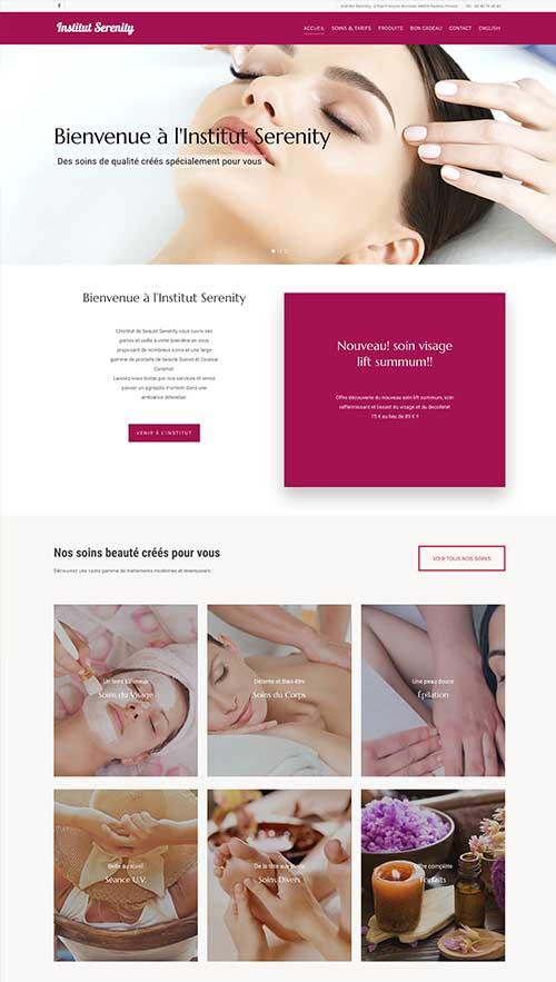 Institut-de-beauté-Serenity-portfolio-Gini-Concept-Design
