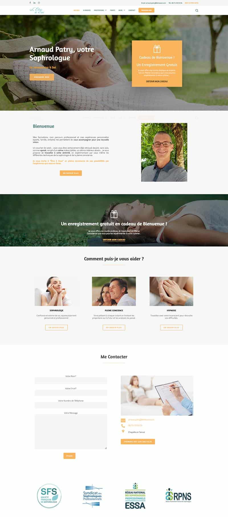 Letre-a-soi-website-screenshot