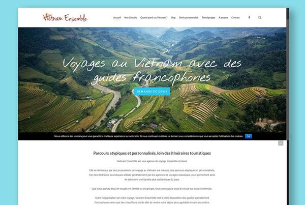 Vietnam Ensemble Website
