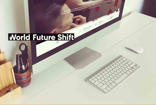 World Future Shift – Référencement on-site en 2 langues