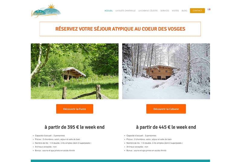 Refonte de site multilingue – Vosges Bleu Vert